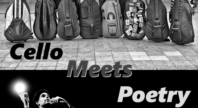 Cello Meets Poetry, Samstag, 25. Februar 2017, 16 Uhr, Laeiszhalle Studio E
